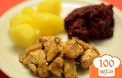Фото рецепта: «Куриное филе в лимонном соусе»