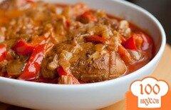 Фото рецепта: «Курица по-венгерски»