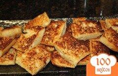 Фото рецепта: «Сырно-чесночный хлеб»