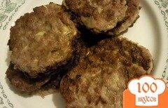Фото рецепта: «Овощные оладьи с мясным фаршем»