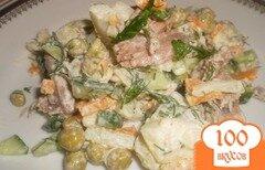 Фото рецепта: «Мясной салат»