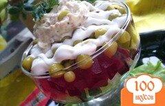 """Фото рецепта: «Салат из свеклы """"Легкий""""»"""