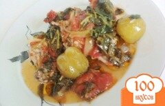 """Фото рецепта: «Курица под овощным """"одеялом""""»"""