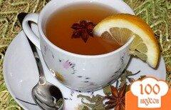 Фото рецепта: «Лимонно-имбирный чай с мятой»
