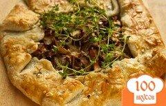 Фото рецепта: «Тарт с лисичками»