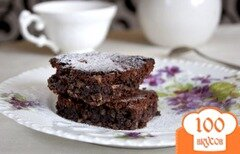 Фото рецепта: «Шоколадный пирог с фундуком»