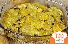 Фото рецепта: «Картошка с грибами в сметане»