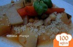 Фото рецепта: «Овощное рагу с крупой кус- кус по-восточному»