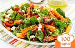 Фото рецепта: «Салат с жареной морковью»