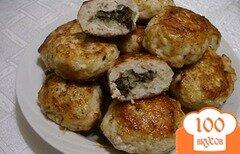 Фото рецепта: «Котлеты из курицы с грибами»