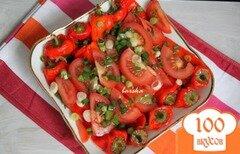 Фото рецепта: «Перец запечёный, закусочный»