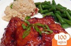 Фото рецепта: «Куриные окорочка по-азиатски»