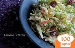 Фото рецепта: «Салат из капусты и яблока»