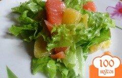 Фото рецепта: «Салат с лососем и апельсином»