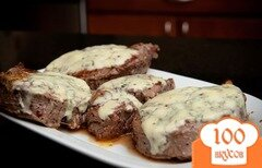 Фото рецепта: «Жареное мясо с чесноком»