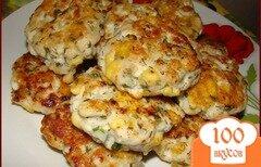 Фото рецепта: «Куриные котлеты с сыром»