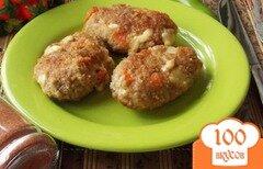 Фото рецепта: «Котлеты с сыром, морковью и сельдереем.»