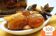 Фото рецепта: «Варенье из винограда с пряностями и миндалём, томлённое в духовке.»