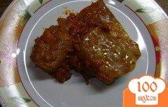 Фото рецепта: «Голубцы на овощной подушке»