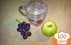 Фото рецепта: «Компот из винограда и айвы»