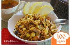 Фото рецепта: «Рис с бужениной»