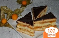 "Фото рецепта: «Венгерский пирог ""Жербо""»"
