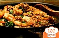 Фото рецепта: «Рис с морепродуктами по-японски»