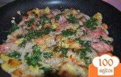 Фото рецепта: «Омлет без яиц, или быстрая закуска»