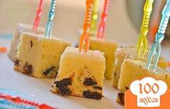 Фото рецепта: «Пирог с черносливом и шоколадом»