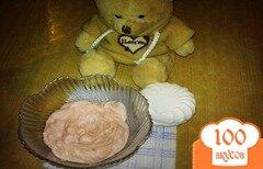 Фото рецепта: «Зефирный крем»