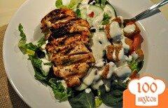 Фото рецепта: «Сырный соус для салатов»
