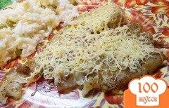 Фото рецепта: «Филе пангасиуса в духовке под сыром»