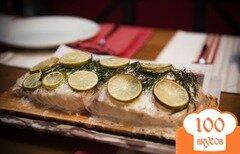 Фото рецепта: «Запеченное филе морского окуня»