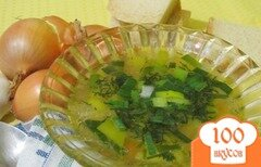 Фото рецепта: «Суп с рисом и зеленью»