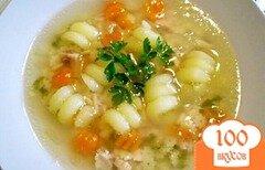 Фото рецепта: «Детский суп с цветочками»