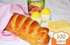 Фото рецепта: «Домашний хлеб на аджике»