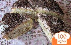 Фото рецепта: «Бисквитный торт с сметаным кремом»