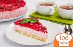 Фото рецепта: «Торт с клубничным муссом»