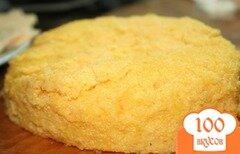 Фото рецепта: «Мамалыга с муждеем и кырнацэями»