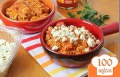 Фото рецепта: «Курица с овощами под соусом Буффало»
