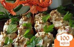 Фото рецепта: «Мусс из тунца на абрикосах»