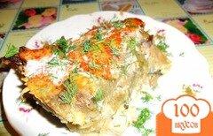 Фото рецепта: «Картофельная запеканка с индейкой и лесными грибами»