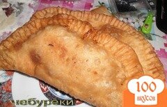 Фото рецепта: «Чебуреки с мясом»