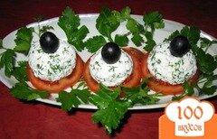 Фото рецепта: «Помидоры с творожными шариками»
