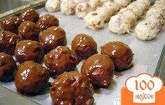 Фото рецепта: «Кокосовые шарики в шоколаде»