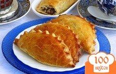 Фото рецепта: «Пирожки с печенью и яйцами»