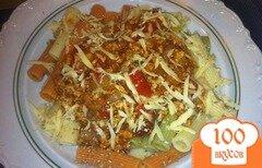 Фото рецепта: «Макароны с соусом Болоньезе»