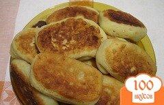 Фото рецепта: «Пирожки с грибами на картофельном тесте»