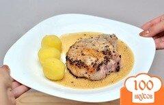 Фото рецепта: «Перечный стейк»