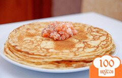 Фото рецепта: «Пышные царские блины»